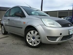 2004 Ford Fiesta WP LX Silver 4 Speed Automatic Hatchback Invermay Launceston Area Preview