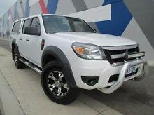 2010 Ford Ranger PK XL Crew Cab White 5 Speed Manual Utility Bunbury 6230 Bunbury Area Preview