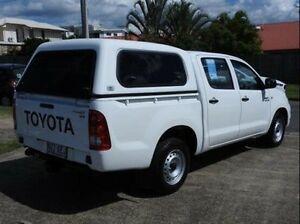 2011 Toyota Hilux KUN16R MY10 SR White 5 Speed Manual Utility Wynnum Brisbane South East Preview