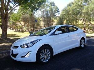 2014 Hyundai Elantra MD3 Trophy White 6 Speed Manual Sedan St Marys Mitcham Area Preview