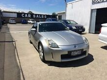 2003 Nissan 350Z Z33 Touring Silver 6 Speed Manual Coupe Maidstone Maribyrnong Area Preview