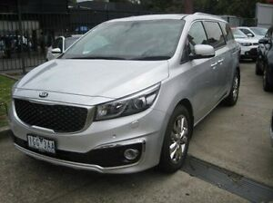 2015 Kia Carnival YP MY16 Platinum Silver 6 Speed Sports Automatic Wagon Blackburn Whitehorse Area Preview