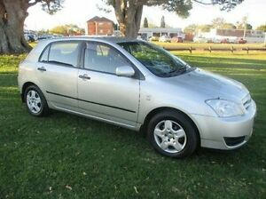 2006 Toyota Corolla ZZE122R 5Y Ascent Silver 5 Speed Manual Hatchback East Kempsey Kempsey Area Preview