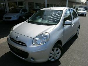 2012 Nissan Micra K13 MY13 ST-L Silver 5 Speed Manual Hatchback Coffs Harbour Coffs Harbour City Preview