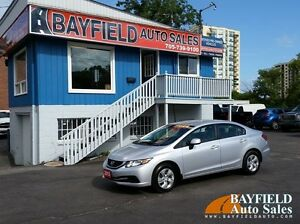 2013 Honda Civic LX Sedan **Auto/Heated Seats/Bluetooth**