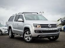 2013 Volkswagen Amarok 2H MY13 TDI420 4Motion Perm Ultimate Silver 8 Speed Automatic Utility Parramatta Parramatta Area Preview
