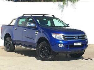 2013 Ford Ranger PX XLT Double Cab Blue 6 Speed Sports Automatic Utility Blacktown Blacktown Area Preview