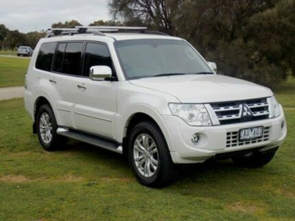 2012 Mitsubishi Pajero  White Auto Seq Sportshift Wagon Mornington Mornington Peninsula Preview