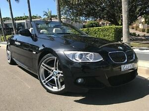 2012 BMW 320D E93 MY0312 Black 6 Speed Manual Convertible Summer Hill Ashfield Area Preview