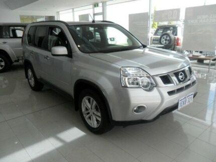 2012 Nissan X-Trail T31 MY11 TS (4x4) Silver 6 Speed Manual Wagon Mandurah Mandurah Area Preview