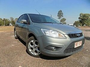 2010 Ford Focus LV LX Silver 4 Speed Sports Automatic Hatchback Stuart Park Darwin City Preview
