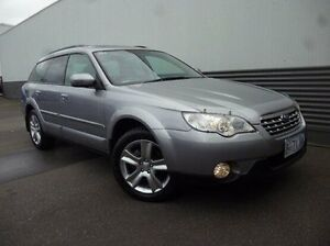 2008 Subaru Outback B4A MY09 Premium Pack AWD Silver 4 Speed Sports Automatic Wagon Cooee Burnie Area Preview