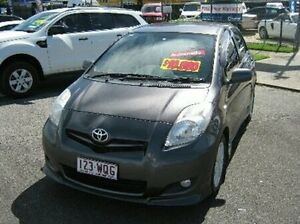 2010 Toyota Yaris NCP91R MY10 YRX Grey 4 Speed Automatic Hatchback Bungalow Cairns City Preview
