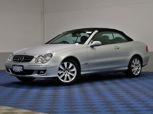 2006 Mercedes-Benz CLK280 C209 MY06 Avantgarde Silver 7 Speed Automatic G-Tronic Cabriolet Jandakot Cockburn Area Preview