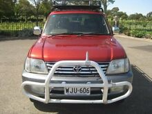 2000 Toyota Landcruiser Prado VZJ95R Grande Burgundy 4 Speed Automatic Wagon Enfield Port Adelaide Area Preview