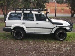 1996 Toyota Landcruiser HZJ80R GXL White 5 Speed Manual Wagon Woodville Park Charles Sturt Area Preview