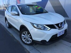 2015 Nissan Qashqai J11 ST White 1 Speed Constant Variable Wagon Bunbury Bunbury Area Preview
