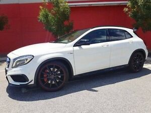2014 Mercedes-Benz GLA 45 AMG 4MATIC X156 AMG SPEEDSHIFT DCT 4MATIC White 7 Speed Cannington Canning Area Preview