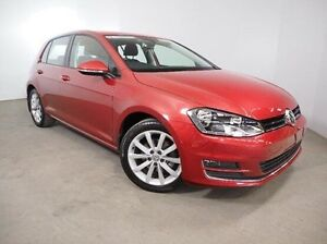 2014 Volkswagen Golf VII MY15 103TSI DSG Highline Red 7 Speed Sports Automatic Dual Clutch Hatchback Mount Gambier Grant Area Preview