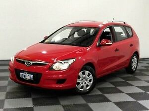 2012 Hyundai i30 FD MY11 SX cw Wagon Red 4 Speed Automatic Wagon Edgewater Joondalup Area Preview