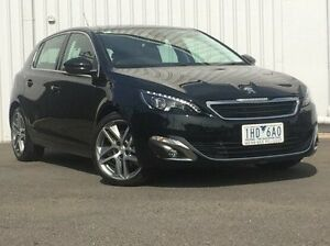 2015 Peugeot 308 Black Sports Automatic Hatchback Hoppers Crossing Wyndham Area Preview