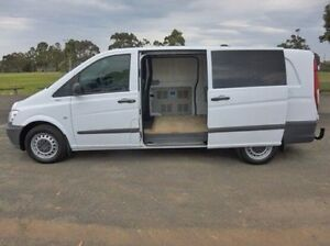 2012 Mercedes-Benz Vito White Manual Van Coburg North Moreland Area Preview