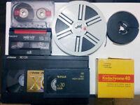 Service de transfert VHS Vidéo analogique cassette Numérique DVD