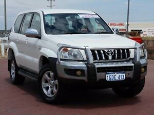 2007 Toyota Landcruiser Prado KDJ120R GX White 6 Speed Manual Wagon Spearwood Cockburn Area Preview