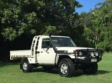 2005 Toyota Landcruiser HDJ79R White 5 Speed Manual Cab Chassis Albion Brisbane North East Preview