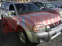 2006 Nissan Navara D22 S2 ST-R Silver 5 Speed Manual Utility Derwent Park Glenorchy Area Preview