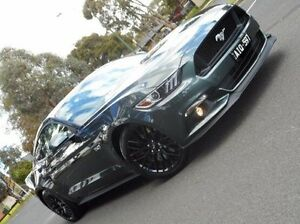 2016 Ford Mustang FM GT SelectShift Green 6 Speed Sports Automatic Fastback Bundoora Banyule Area Preview