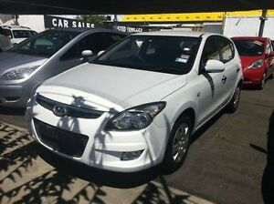2011 Hyundai i30 FD MY11 SX White 4 Speed Automatic Hatchback Maidstone Maribyrnong Area Preview