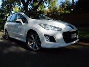 2012 Peugeot 308 T7 MY12 Active Touring White 6 Speed Sports Automatic Wagon Prospect Prospect Area Preview