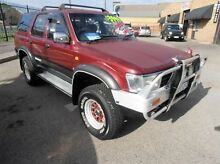 1994 Toyota Hilux Surf SSR-V WIDE BODY Maroon 4 Speed Automatic Wagon Wangara Wanneroo Area Preview