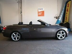 2009 BMW 325I E93 MY10 Steptronic Brown 6 Speed Sports Automatic Convertible Highett Bayside Area Preview