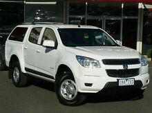 2012 Holden Colorado RG MY13 LX Crew Cab White 5 Speed Manual Utility Sunbury Hume Area Preview