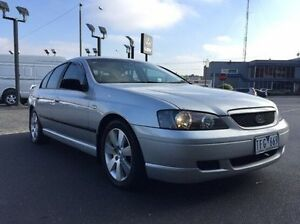 2004 Ford Falcon BA SR XT Silver 4 Speed Sports Automatic Sedan Heidelberg Heights Banyule Area Preview