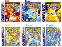 WANTED - POKEMON GAMEBOY GAMES + CONSOLES