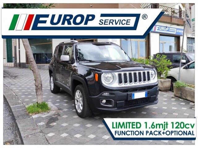 Jeep Renegade Autom 2.0 4x4 Limited 140CV + PACK