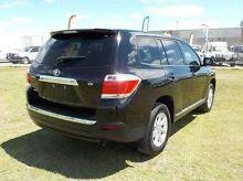 2012 Toyota Kluger  Black Sports Automatic Wagon Pakenham Cardinia Area Preview