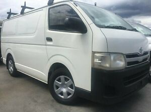 2011 Toyota Hiace KDH201R MY11 LWB White 5 Speed Manual Van Invermay Launceston Area Preview