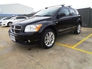 2011 Dodge Caliber PM MY10 SXT Black 6 Speed CVT Auto Sequential Hatchback Melton Melton Area Preview