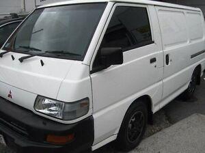 2005 Mitsubishi Express SJ M05 SWB White 5 Speed Manual Van Underwood Logan Area Preview