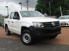 2013 Volkswagen Amarok  Candy White Manual Utility Banksia Rockdale Area Preview