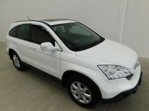2008 Honda CR-V RE MY2007 Luxury 4WD White 5 Speed Automatic Wagon Braeside Kingston Area Preview