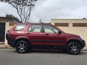 2005 Honda CR-V RD MY2005 4WD Red 5 Speed Automatic Wagon Hove Holdfast Bay Preview