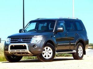 2011 Mitsubishi Pajero NT MY11 30th Anniversary Grey 5 Speed Sports Automatic Wagon Christies Beach Morphett Vale Area Preview