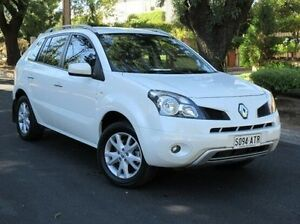 2011 Renault Koleos H45 MY10 Dynamique White 1 Speed Constant Variable Wagon Medindie Gardens Prospect Area Preview