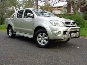 2011 Toyota Hilux KUN26R MY10 SR5 Silver 4 Speed Automatic Utility St Marys Mitcham Area Preview