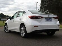 2015 Mazda 3 BM5238 SP25 GT White 6 Speed Sports Automatic Sedan Wilson Canning Area Preview